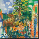 Composition, 1924 Stretched Canvas Print by Raoul Dufy