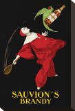 Sauvion&#39;s Brandy Stretched Canvas Print by Leonetto Cappiello