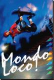 Mondo Loco! Stretched Canvas Print