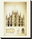 Il Duomo di Milano Stretched Canvas Print by Libero Patrignani