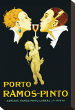 Porto Ramos-Pinto Stretched Canvas Print by Ren&#233; Vincent