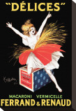 Ferrand and Renaud Stretched Canvas Print by Leonetto Cappiello