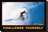 Challenge Yourself Stretched Canvas Print