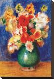 Bouquet de Fleurs, 1905 Stretched Canvas Print by Pierre-Auguste Renoir