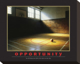 Opportunity Stretched Canvas Print
