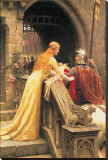 God Speed Stretched Canvas Print by Edmund Blair Leighton
