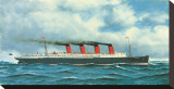 Lusitania, c.1908 Stretched Canvas Print by Antonio Jacobsen