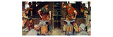 Blacksmith's Boy-Heel and Toe Giclee Print by Norman Rockwell