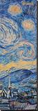 Starry Night (detail) Leinwand von Vincent van Gogh