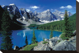 Moraine Lake II Stretched Canvas Print