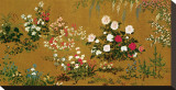 Flowers and Plants, 1795 Stretched Canvas Print