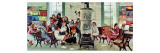 Norman Rockwell Visits a Country School Giclee Print by Norman Rockwell