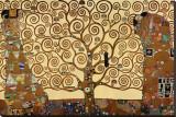 L'arbre de vie, 1909, fresque du Palais Stoclet Reproduction sur toile tendue par Gustav Klimt