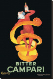 Bitter Campari Stretched Canvas Print by Leonetto Cappiello
