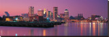Baltimore Skyline Stretched Canvas Print
