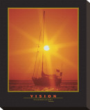 Vision Stretched Canvas Print