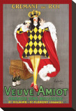 Veuve Amiot Stretched Canvas Print by Leonetto Cappiello