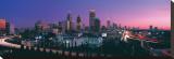 Atlanta Skyline at Night I Stretched Canvas Print