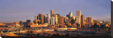 Denver Skyline Stretched Canvas Print