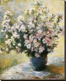 花瓶の花 キャンバスプリント : クロード・モネ