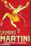Martini & Rossi - Spumanti Martini Reproduction transférée sur toile