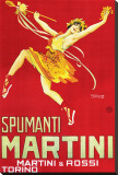 Spumanti, Martini &amp; Rossi Stretched Canvas Print