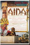 Verdi, Teatro La Fenice, Aida Reproduction transférée sur toile