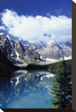 Moraine Lake I Stretched Canvas Print