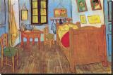 Schlafzimmer in Arles, ca. 1887 Leinwand von Vincent van Gogh