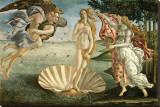 Geburt der Venus – Lila Leinwand von Sandro Botticelli