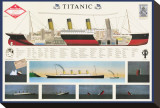 Titanic Stretched Canvas Print