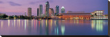 Tampa Skyline Stretched Canvas Print