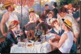 Le déjeuner des canotiers Reproduction transférée sur toile par Pierre-Auguste Renoir