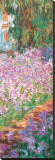 Garden (detail) Stretched Canvas Print by Claude Monet
