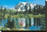 Mount Shuksan Stretched Canvas Print