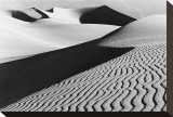 Sand Dunes in Death Valley I Stretched Canvas Print