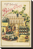 The Continental Bodega Company Stretched Canvas Print