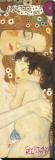 Äiti ja lapsi - Yksityiskohta maalauksesta Naisen kolme ikää (Mother and Child - detail from The Three Ages of Woman), noin 1905 Canvastaulu tekijänä Gustav Klimt