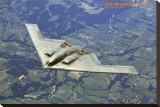 Airplane B2 Bomber Spirit Stretched Canvas Print