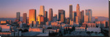 Downtown Los Angeles Skyline I Stretched Canvas Print