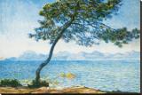 Antibes, c.1888 Reproduction transférée sur toile par Claude Monet