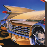 Cadillac Eldorado '59 Stretched Canvas Print by Graham Reynold