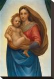 La Madonna di S. Sisto (particolare), 1483-1520 Reproduction transférée sur toile par  Raphael
