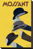 Chapeau Mossant Stretched Canvas Print by Leonetto Cappiello