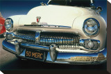 Ford Mercury '50 in Roma Stretched Canvas Print by Graham Reynold