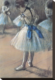 Ballerina Stretched Canvas Print by Edgar Degas