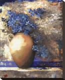 Provence Urn II Opspændt lærredstryk af Louise Montillio