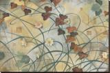 Grape Vine Stretched Canvas Print by Louise Montillio