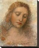 Il Redentore Stretched Canvas Print by  Leonardo da Vinci