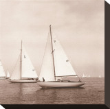 Sailing VI Stretched Canvas Print